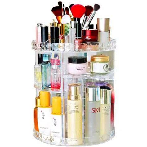 Rak Kosmetik Shopee rak organizer kosmetik make up putar 360 derajat best