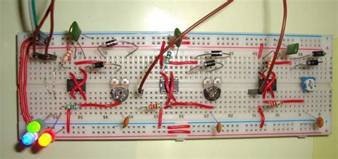 Rgb Led Bulb Using Timer Ics Circuits