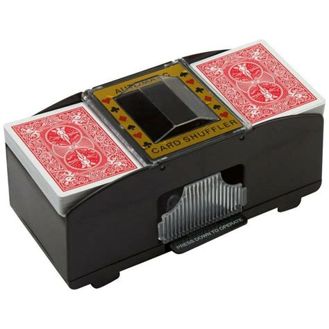 We stock a variety of different poker tables so you are sure to the find the perfect one for your game. 2 Deck Automatic Card Shuffler Poker Cards Shuffling Machine Casino Playing US | eBay