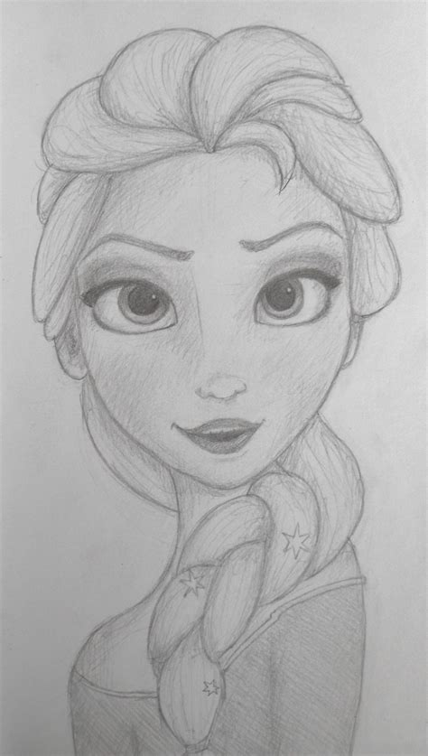 Elsa From Frozen How To Draw Step By Step Hot Girls