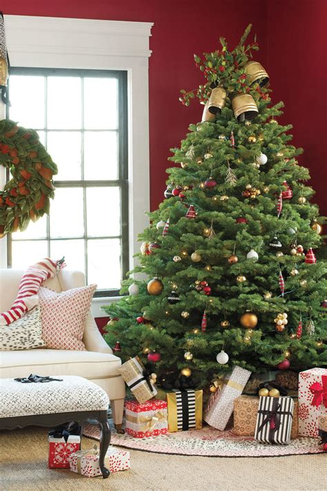 traditional trees get the look traditional tree southern living