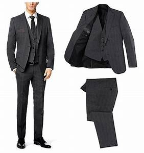 Costume 3 Pièces Gris : costume hugo boss gris 3 pieces en soldes ~ Dallasstarsshop.com Idées de Décoration