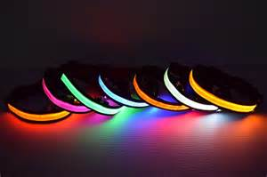 Steady Yellow Light by Led Dog Collar Led Glow In The Dark Dog Collars