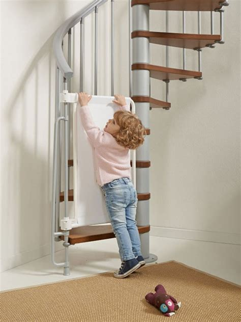 barriere securite escalier helicoidal barri 232 re de s 233 curit 233 enfants pour escaliers en kit kalypto