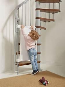 Barriere De Securite Escalier : barri re de s curit enfants pour escaliers en kit kalypto ~ Melissatoandfro.com Idées de Décoration