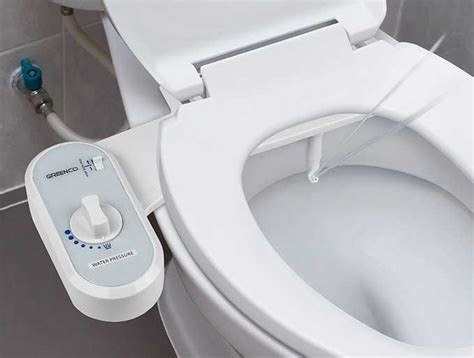 Nonelectric Bidet Toilet Seat Attachment  Cool Tools