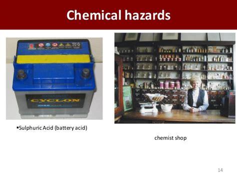 occupational health  safety hazard  risk assessment