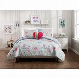Jessica, Simpson, Growing, Garden, 4pc, Comforter, Set, Full