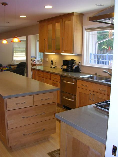 grey caesarstone countertop home design ideas pictures