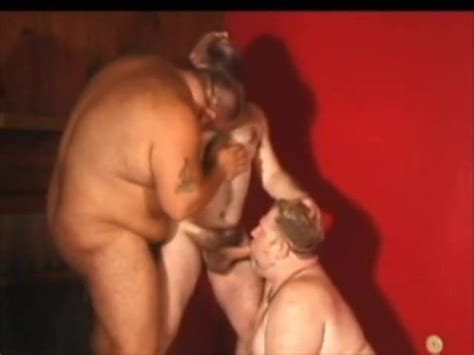 Chubby Mature Bear Threesome Free Mature Gay Porn Video Ed Es