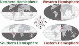Hemisphere Map