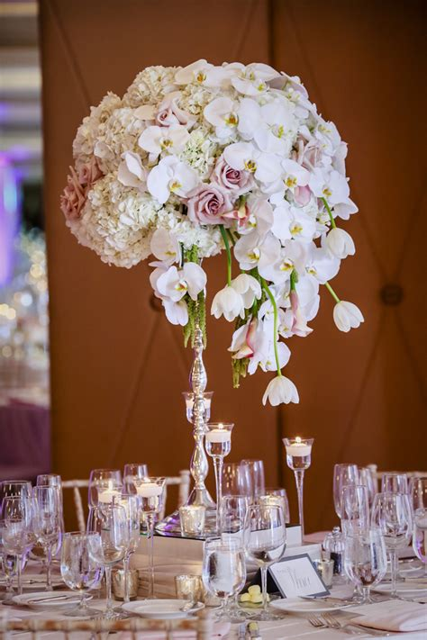 Unique Centerpiece Blush Botanicals San Diego Florist