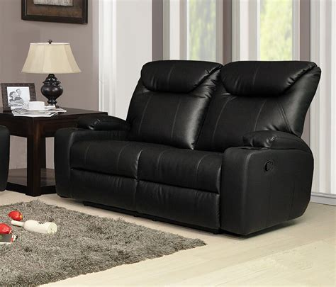 new settee new luxury cinema lazy boy 2 seater bonded leather