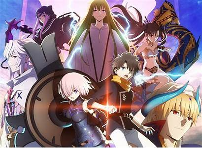 Anime Order Fate Grand Shows Fan
