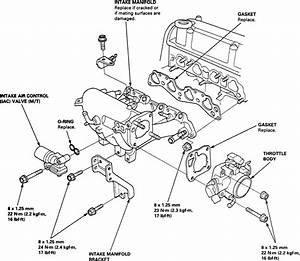 Honda 4 Cylinder Engine Diagram