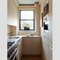 Kleine Küche In Creme  Platz Optimal Nutzen Küche