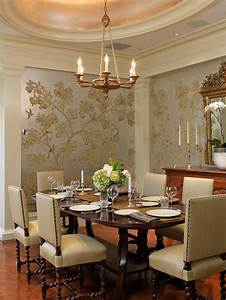 Trendy ideas for selecting your dining room wallpaper ...