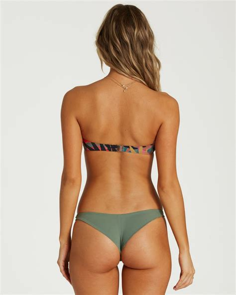 Swim | Billabong Womens Tropic Nights Tanga Bikini Bottom ...