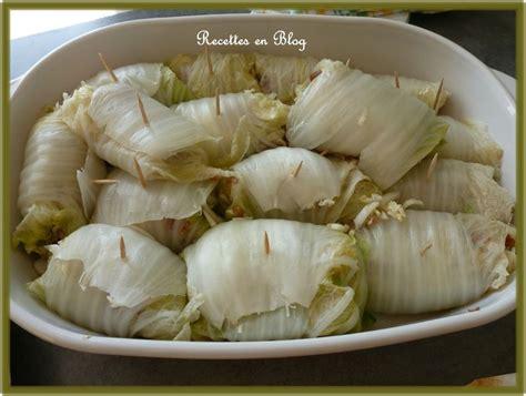 cuisiner le chou chinois 28 images recettes de chou