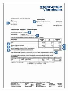Immergrün Strom Rechnung : erkl rung rechnung stadtwerke viernheim ~ Themetempest.com Abrechnung