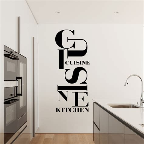 cuisine et citation pretty stickers muraux cuisine photos gt gt sticker cuisine