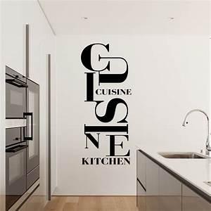 Sticker Design Cuisine Kitchen Stickers Cuisine Textes