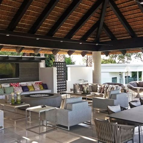 Thatched Roof House With Outdoor Entertaining Spaces by 307 Best Beautiful Thatch Homes Images On