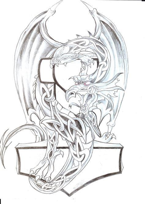 images  tattoos  pinterest celtic dragon