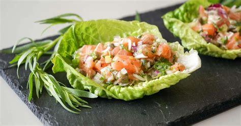 cuisiner saumon frais tartare de saumon recette de tartare de saumon à l
