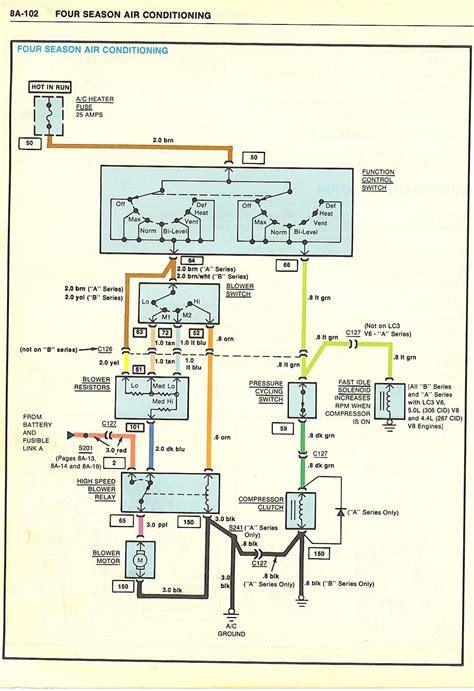 wiring schematics  ac compressor