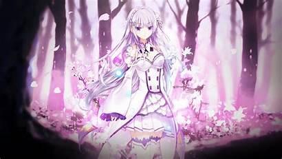 Emilia Zero Re Rezero Wallpapers Anime Theme