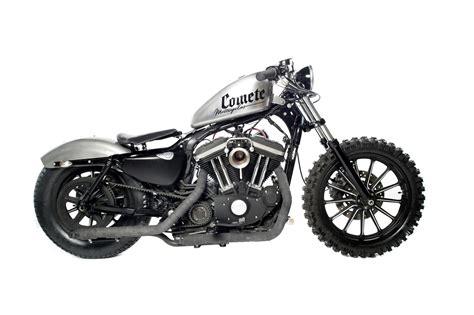 Lumberjack Sportster, A Harley Scrambler From Comete