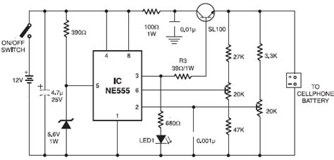 car mobile phone charger circuit
