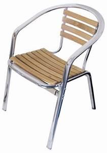 Gartenstühle Metall Holz : metall holz bistrosessel gartenstuhl terrassenstuhl stabil ~ Michelbontemps.com Haus und Dekorationen