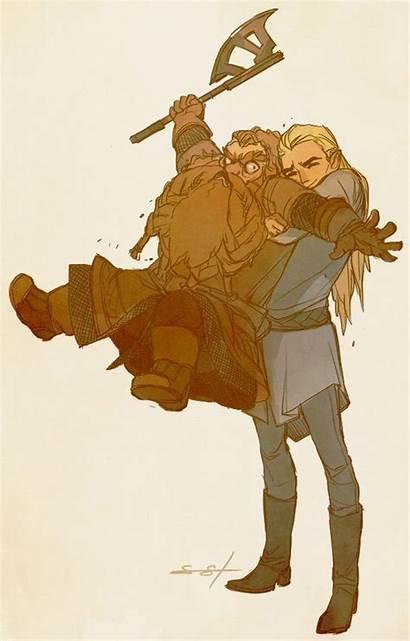 Gimli Legolas Lotr Gandalf Tolkien Aragorn Jrr