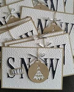 25 best ideas about winter cards on pinterest christmas With large christmas letters