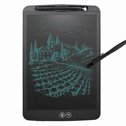 Lcd Tablet Writing Drawing Stylus Inches Pen