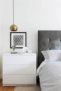 White Malm Dresser Design Ideas