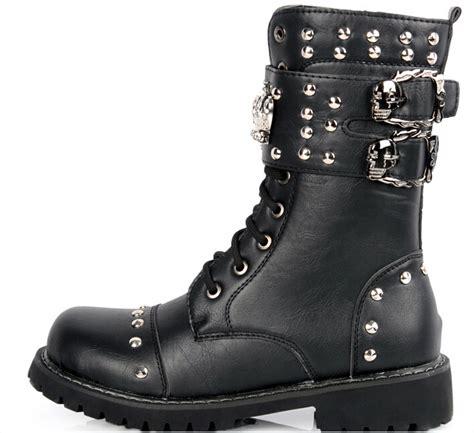 Cheap Fashion Combat Boots For Men Tsaa Heel