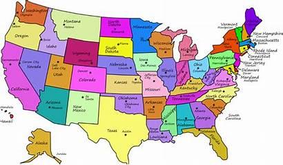 Map States Interactive Unite