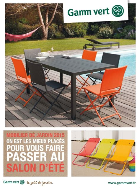 Catalogue Gamm vert Mobilier de Jardin 2015 - Catalogue AZ
