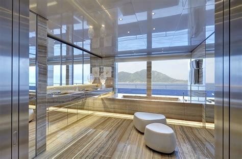 spectacular bathrooms  super yachts