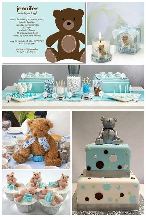 southern blue celebrations boy baby shower ideas