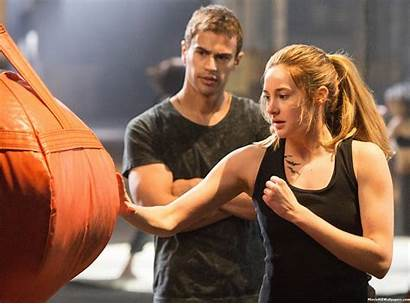 Divergent Wallpapers Tris Four Theo James Film