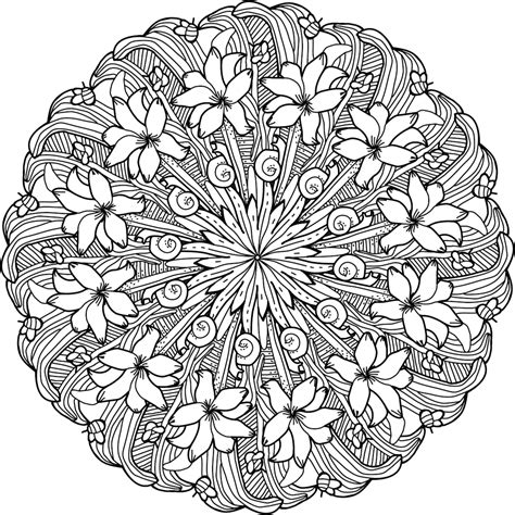 printable coloring pages  adults advanced