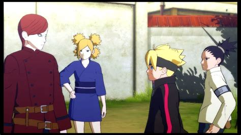 Gaara Talks About Naruto With Boruto And Shikadai