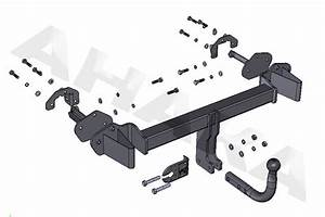 Towbar Tow Hitch Bmw 3 Series E46 Compact 2001 To 2005
