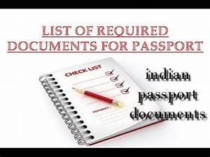 documents required for passport list of required documents With documents required to get the passport