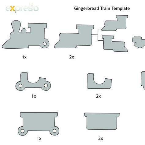 gingerbread train templatepdf docdroid