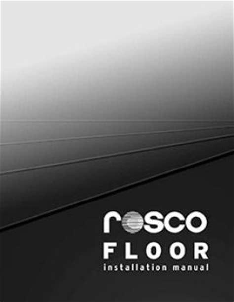 Rosco Floor by Floor Rosco